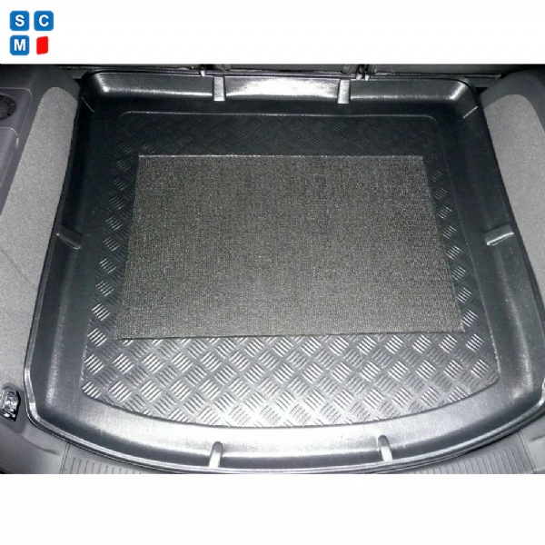 Volkswagen Touran 2010 - 2015 Moulded Boot Mat - from ...