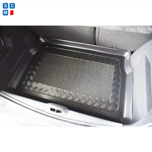 peugeot 208 mar 2012 onward moulded boot mat from simply car mats. Black Bedroom Furniture Sets. Home Design Ideas