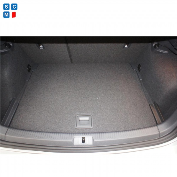 volkswagen golf mk  onwards moulded boot mat upper    simply car mats