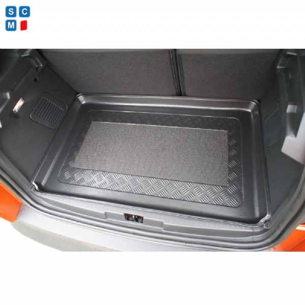 Renault Captur Apr 2013 Onward Moulded Boot Mat From Simply Car Mats