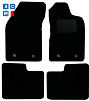 Alfa Romeo Giulietta Fitted 2009 - 2014 (Manual, OVAL Locators) 2009 - 2014 Car Floor Mats product image