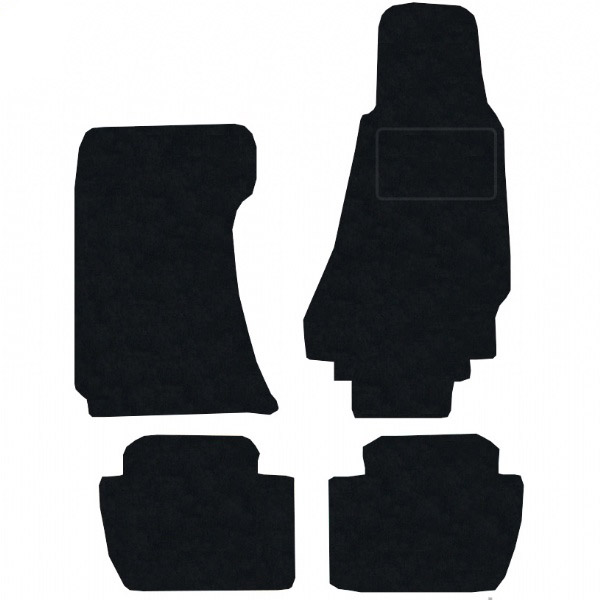 Aston Martin Rapide 2010 - Onwards Fitted Car Floor Mats product image