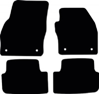Audi A1 Sportback (GB; 2018 - Onwards) Fitted Car Floor Mats product image