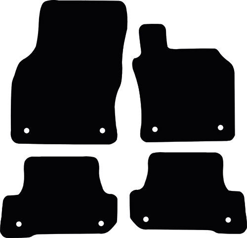Audi A3 / S3 Convertible 2013 - Onwards (8V) Fitted Car Floor Mats product image