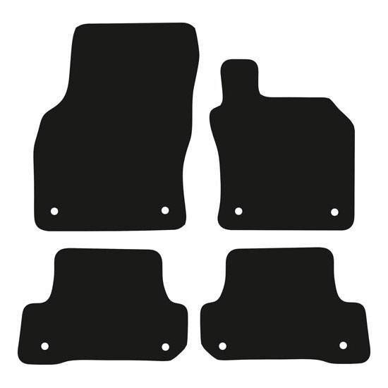 Audi A3 / S3 / RS3 Saloon (8V; 2013 Onwards) (4 Door) Fitted Car Floor Mats product image