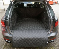 Audi A4 Avant (2018 - 2020) (with Pocket) Quilted Boot Liner