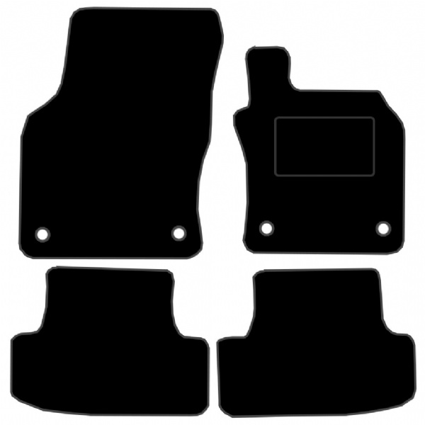 Audi Q2 (2017 - Onwards) Fitted Car Floor Mats product image