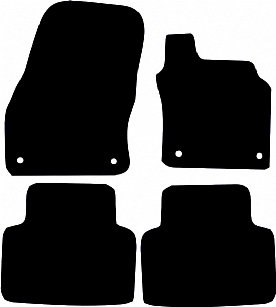 Audi Q3 / RsQ3 (F3, 2018 onwards) Fitted Car Floor Mats product image