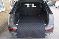Audi Q7 HYBRID (2021 - Onwards) Quilted Waterproof Boot Liner (7 Seat Mode)