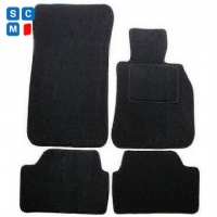 BMW 1 Series Coupe 2007 Onwards (E82) (2x Velcro Fixing) Fitted Car Floor Mats product image