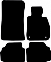 BMW 3 Series Coupe 2007 - 2012 (E92) (Two Locator) Fitted Car Floor Mats product image