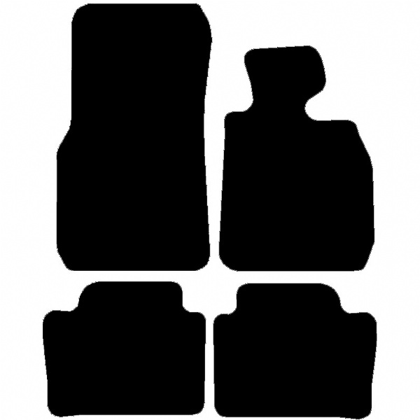 BMW 3 Series Saloon 2012 - 2019 (F30/F80) (2x Velcro Fitting) Fitted Car Floor Mats product image