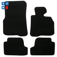 BMW 4 Series Convertible 2014 Onwards (F32/F33) (4x Velcro Fitting) Car  Mats