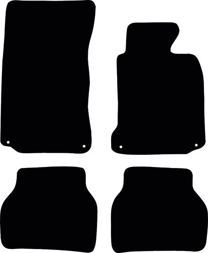 BMW 5 Series Saloon 1996 - 2003 (E39) (4 Locators) Fitted Car Floor Mats product image
