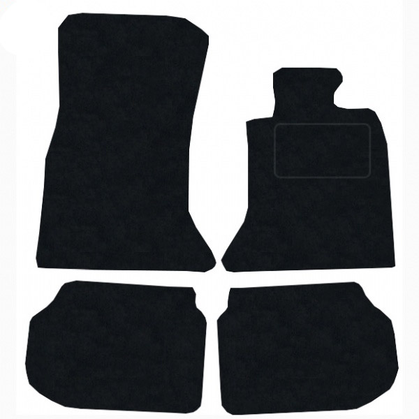 BMW 5 Series Touring 2010 - 2016 (F11) (2x Velcro Fitting) Fitted Car Floor Mats product image