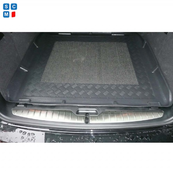 BMW 5 Series Touring 2010 - 2017 (F11) Moulded Boot Mat image 2