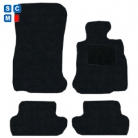 BMW 6 Series Convertible 2011 - Onwards (F12) (2x Velcro Fixing) Fitted Car Floor Mats product image