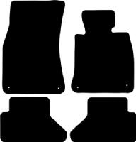 BMW 6 Series Convertible 2003 - 2010 (E64) (4 Locators) Floor Mats product image