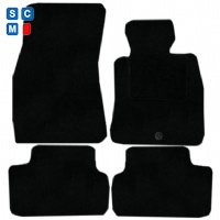 BMW 6 Series Coupe 2003 - 2010 (E63) (2 x Velcro Fixings) Fitted Car Floor Mats product image