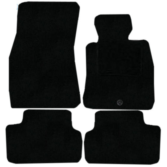 BMW 6 Series Coupe 2003 - 2010 (E63) (4x Velcro Fixing) Fitted Car Floor Mats product image