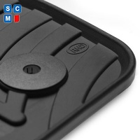 BMW 1 Series Hatchback 2011 Onwards (F20 / F21) (4x Velcro Fitting)