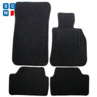 BMW 1 Series Hatchback 2004 - 2011 (E87) (4x Velcro Fitting) Fitted Car Floor Mats