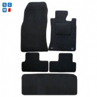 BMW Mini Cooper R50 2001 to 2006 Two Locator (With Boot Mat) Fitted Car Floor Mats