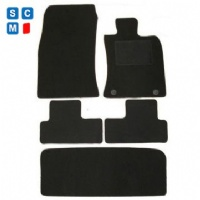 BMW Mini Cooper R56 2007 - 2013 (Twin Locator) (With Boot Mat) Fitted Car Floor Mats
