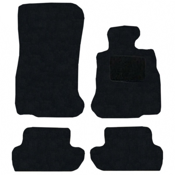 BMW M6 Convertible 2011 - Onwards (F12) (4x Velcro Fixing) Fitted Car Floor Mats product image