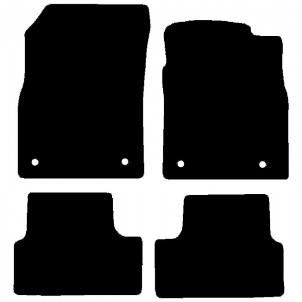Chevrolet Cruze 2011 Onwards Fitted Car Floor Mats product image