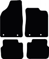 Chrysler Delta 2010 - Onwards (Manual) Fitted Car Floor Mats product image