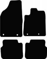 Chrysler Delta 2010 - Onwards (Auto) Floor Mats product image