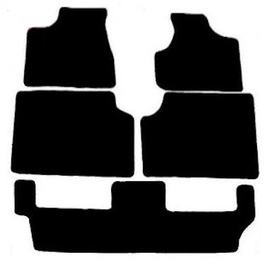 Chrysler Grand Voyager Stow and Go (2004 - 2008) Fitted Car Floor Mats product image