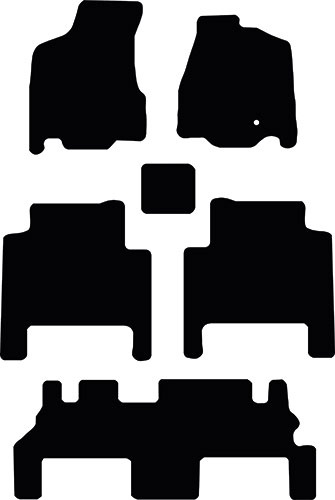 Chrysler Grand Voyager 2012-2015 Floor Mats product image