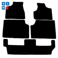 Chrysler Voyager Stow and Go (2004 - 2008) Fitted Car Floor Mats product image