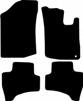 Citroen C1 2005 - 2014 (MK1) With One Locator Fitted Car Floor Mats product image