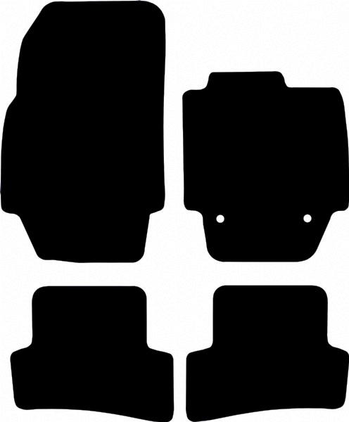 Dacia Logan (2013 onwards) Fitted Car Floor Mats product image