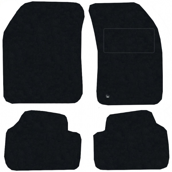 Dodge Avenger 2007 - 2009 Fitted Car Floor Mats product image