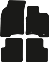 Fiat Panda 2012 - 2020 (2 Locator) Fitted Car Floor Mats product image