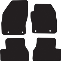 Ford C-Max 2003 - 2007 (4x Oval)(C214) Floor Mats product image