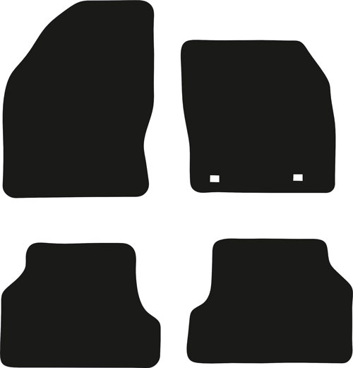Ford Focus Estate 2004 - 2011 (MK2) (2x Locators) Fitted Car Floor Mats product image
