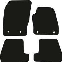 Ford Focus 2011 - 2018 (MK3)(4 Locators)  Car  Mats