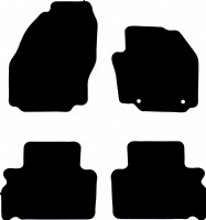Ford Galaxy 2006 - 2015 (MK3)(Round - 261mm Locator Spacing) Floor Mats product image