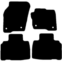 Ford Galaxy 2015 - Onwards (MK4) Locators in Driver and Passenger mats) Fitted Car Floor Mats product image