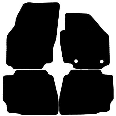 Ford Mondeo 2010 - 2014 (Round Locators)(MK4) Fitted Car Floor Mats product image