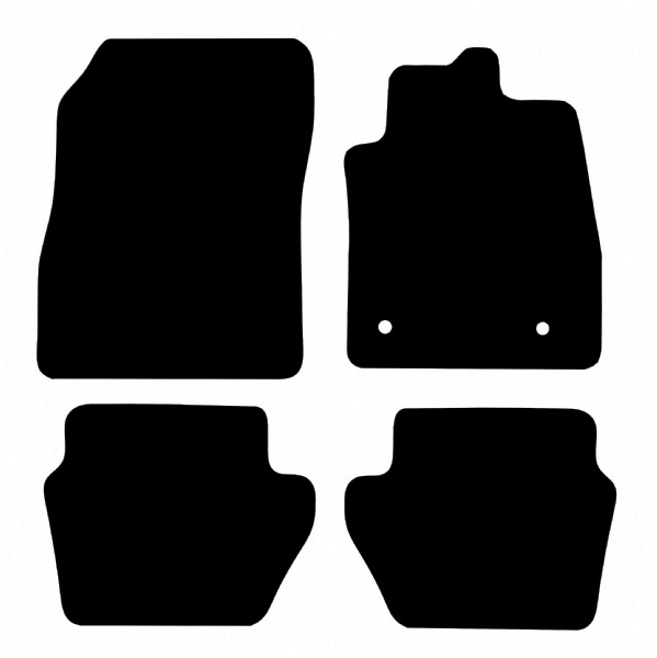 Ford Puma 2019 - Onwards (Round Fixings) Fitted Car Floor Mats product image
