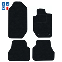 Ford Ranger (2012 - onwards) Fitted Car Floor Mats product image