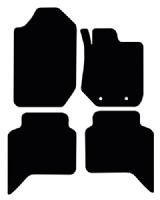 Ford Ranger Wild Trak 2012 - 2015 Floor Mats product image