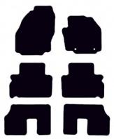 Ford S-Max 2006 - 2011 (Oval Locators)(7 Seater)(MK1)  Car  Mats