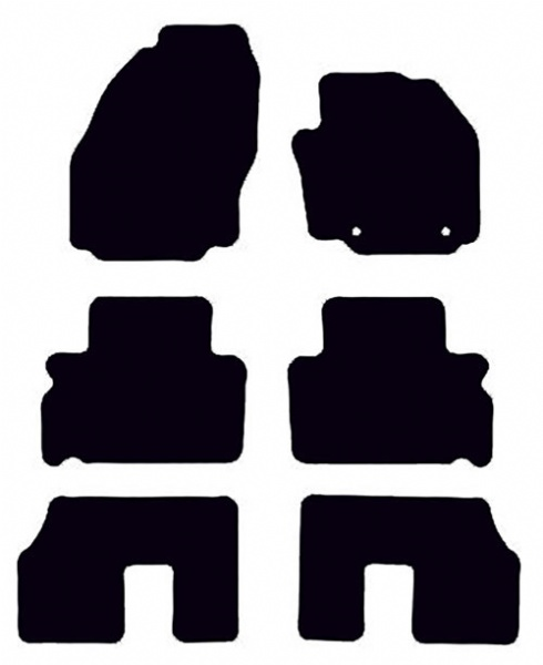 Ford S-Max 2006 - 2011 (Oval Locators)(7 Seater)(MK1) Fitted Car Floor Mats product image